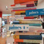Sant Jordi en el Institut français con la librería Jaimes