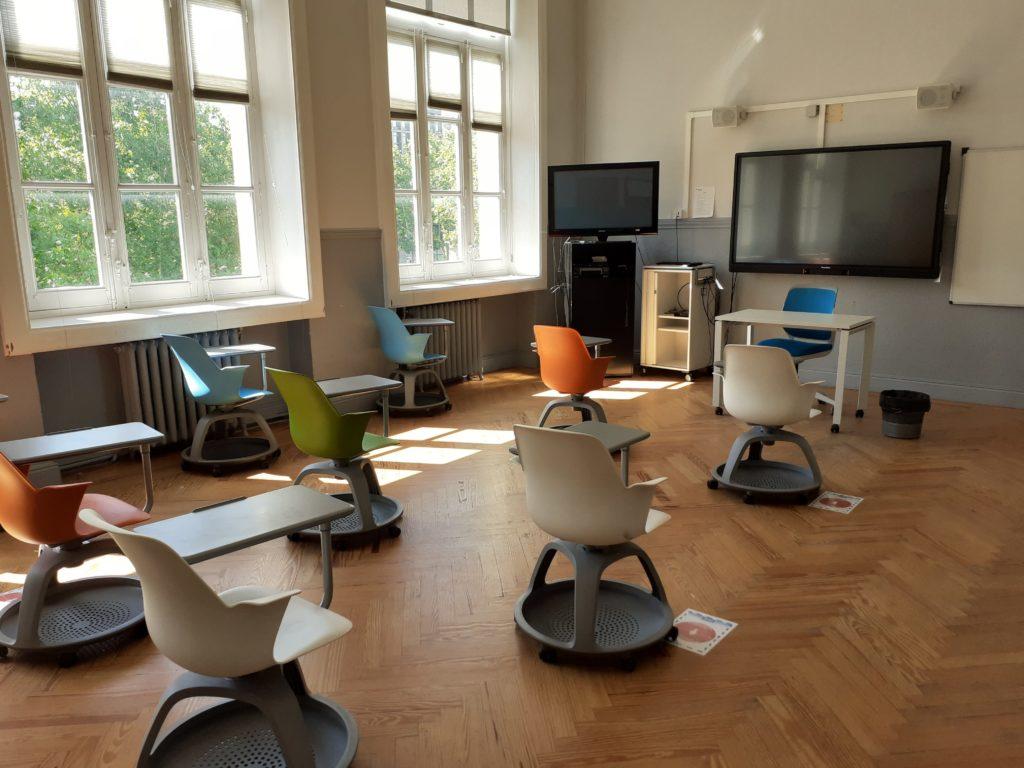 Ejemplo aula Institut français de España - Madrid