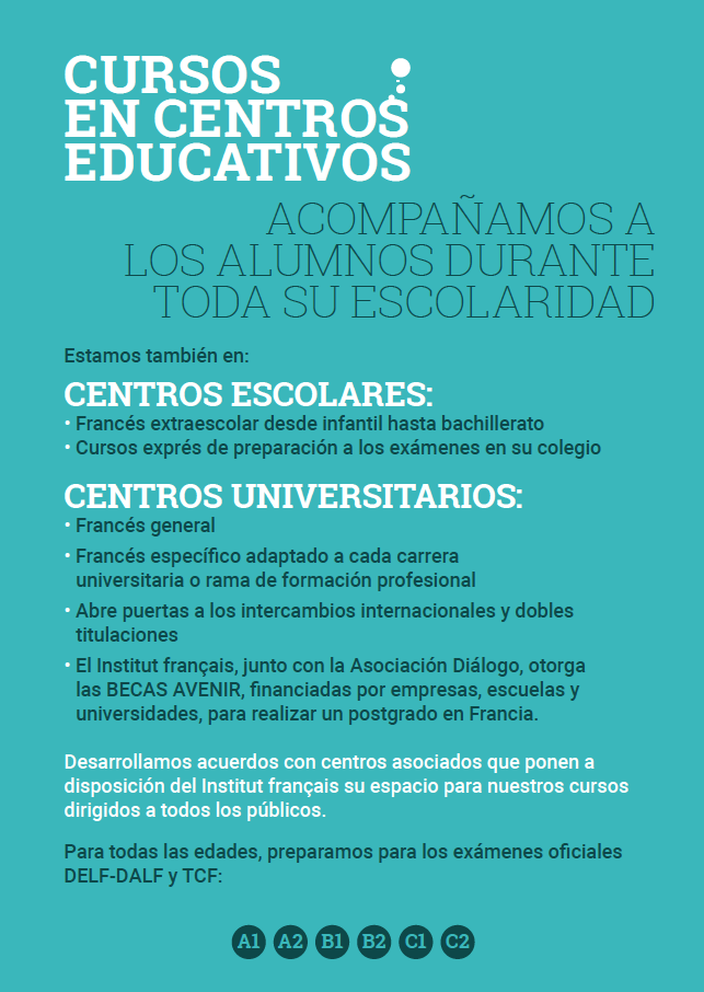 Enseñanza en centros educativos
