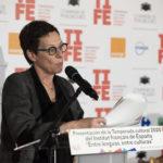 Anne Louyot, Consejera de Cooperación y Acción Cultural de la Embajada de Francia en España y Directora General del Institut français de España