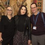 Sandrine Cosny, Luz Casal y David Radin