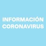 AVISO IMPORTANTE – CORONAVIRUS